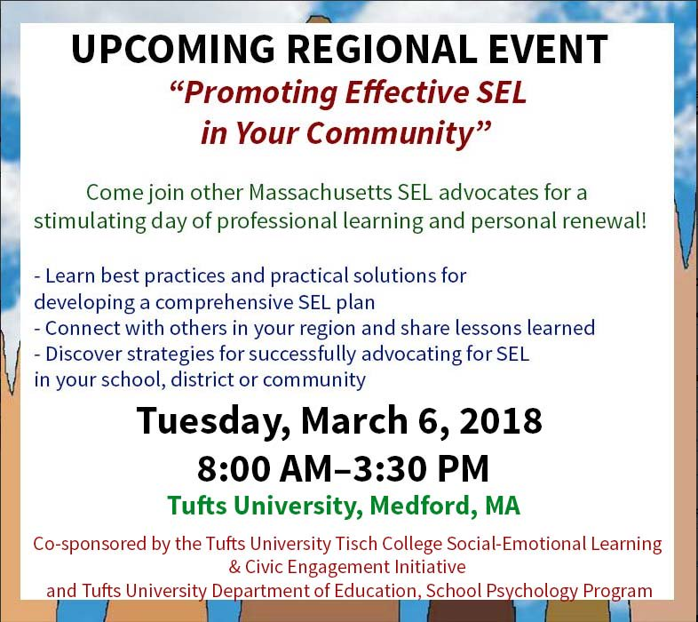 test Twitter Media - Connect with others in the Boston area and share lessons learned about #SocialEmotionalLearning #SEL. Register at https://t.co/5rrdY50sLY https://t.co/8h4FZhUCy8