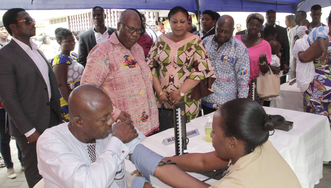 First Lady Promotes Healthy Living