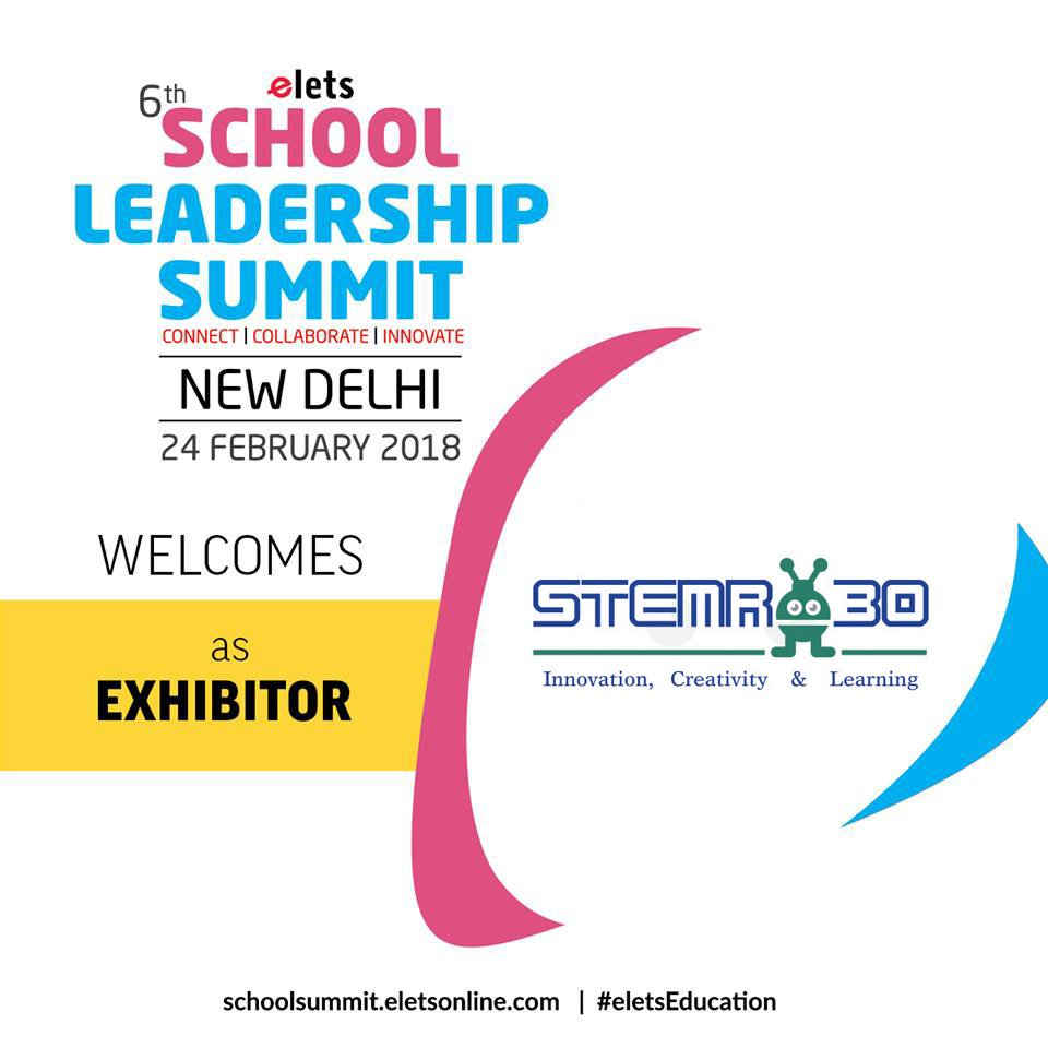 test Twitter Media - Elets 6th School Leadership Summit welcomes @stemrobo as Exhibitor   Visit: https://t.co/AXzzpd2XxW  #eletsEducation #SLS2018 #Education #Conference #SchoolFranchise #Schools #Preschools #Innovation https://t.co/LX7ZL3VdkK