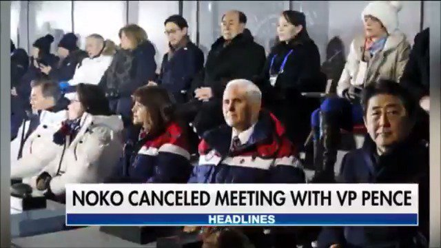Meeting between VP Pence and North Korean officials cancelled at the last minute https://t.co/9NxHdHUmHK