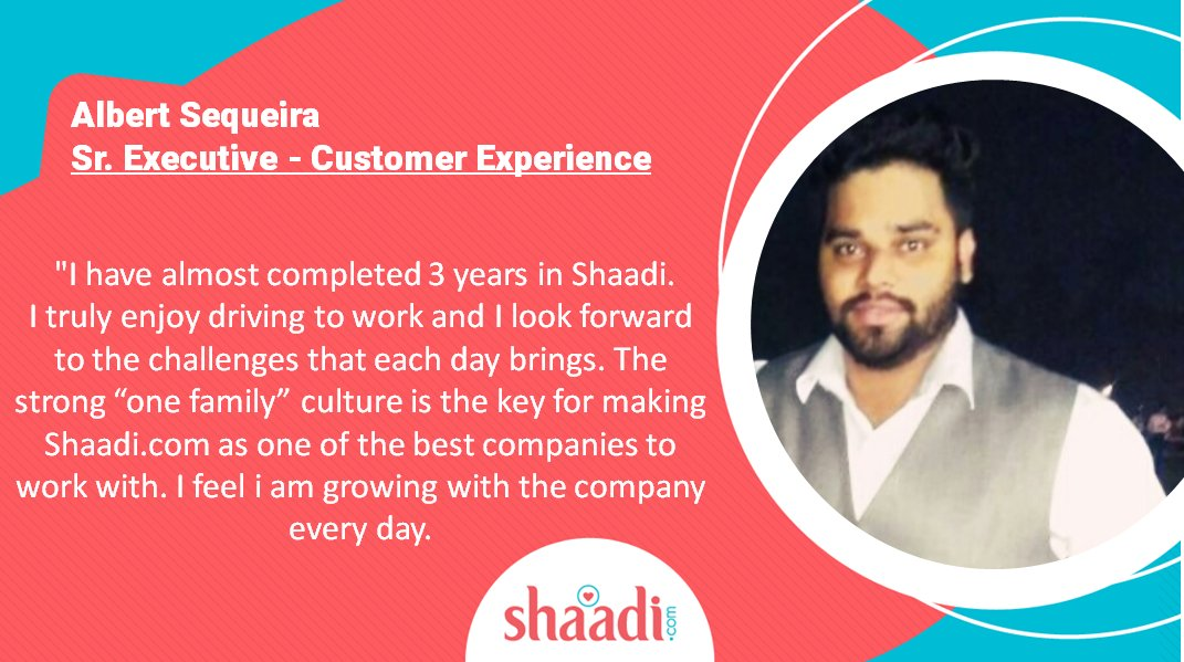 test Twitter Media - We understand that passionate employees make a great organization! #ThankYou for your testimonial  Albert Sequeira !  We are so glad to have you as a member of the @ShaadiDotCom Family. https://t.co/sHupINpMzy