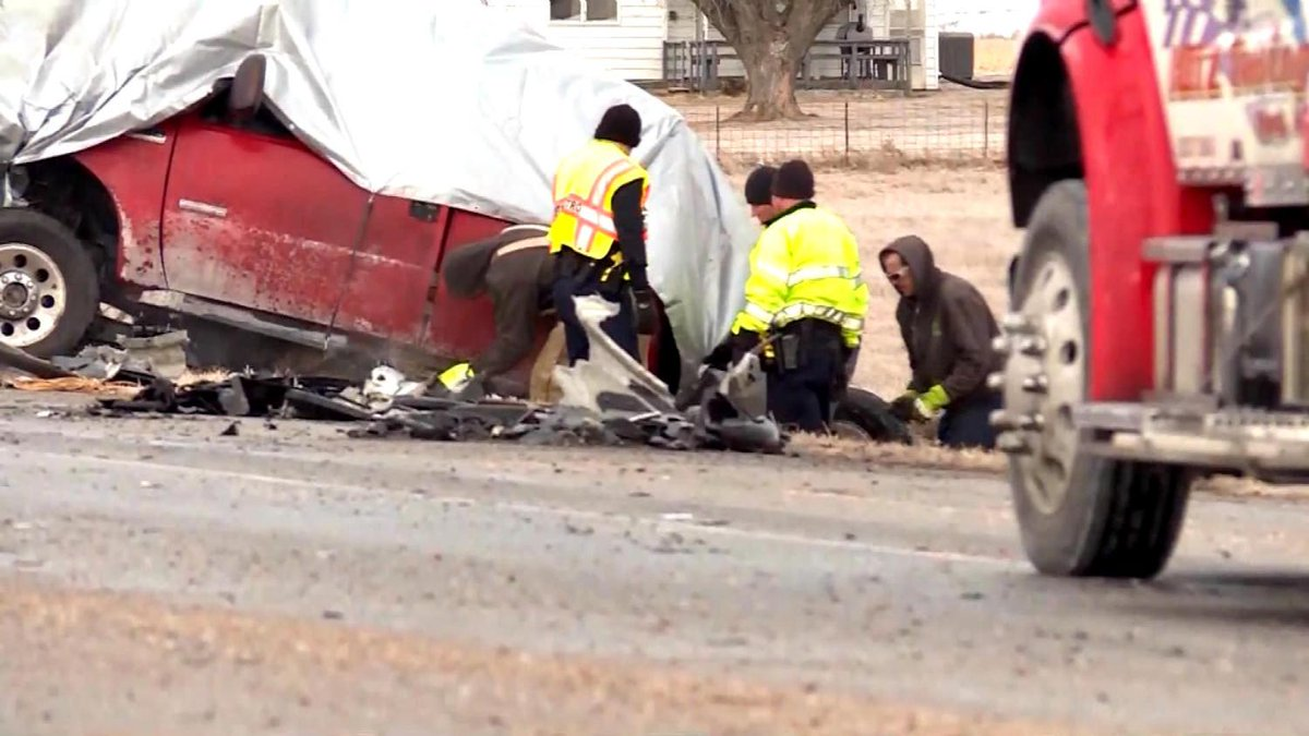 Speed, Slick Pavement Blamed For Collision That Killed4