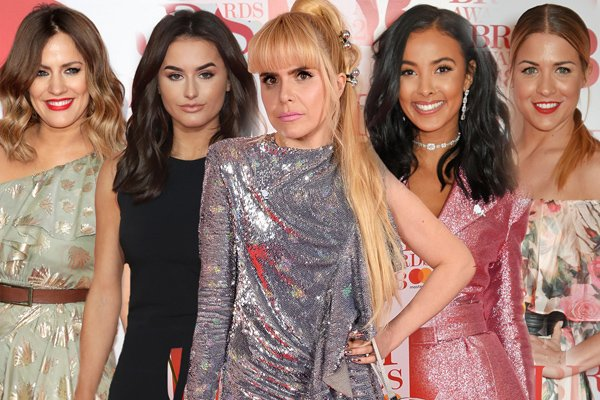 Celebs start to arrive on the BRITs2018 red carpet