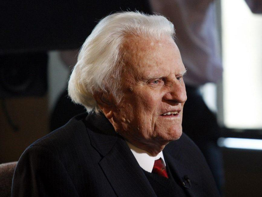 Evangelist Rev. Billy Graham dies at age 99