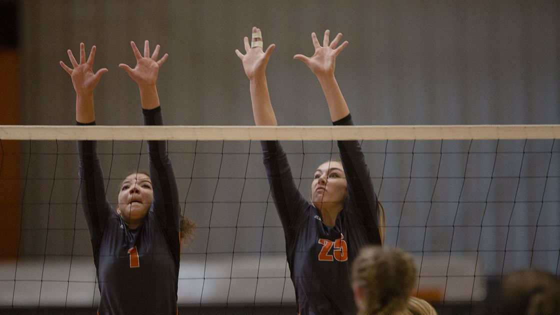 Natrona County's Bre Kelly, Kristy Dick sign to play college volleyball
