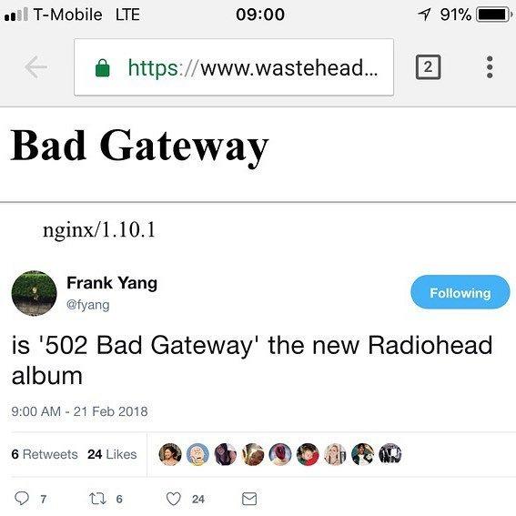 How did you fare with the Radiohead ticket presale? #radiohead #badgateway https://t.co/V2Jyx1yFqJ https://t.co/aDNRYdb4Bo
