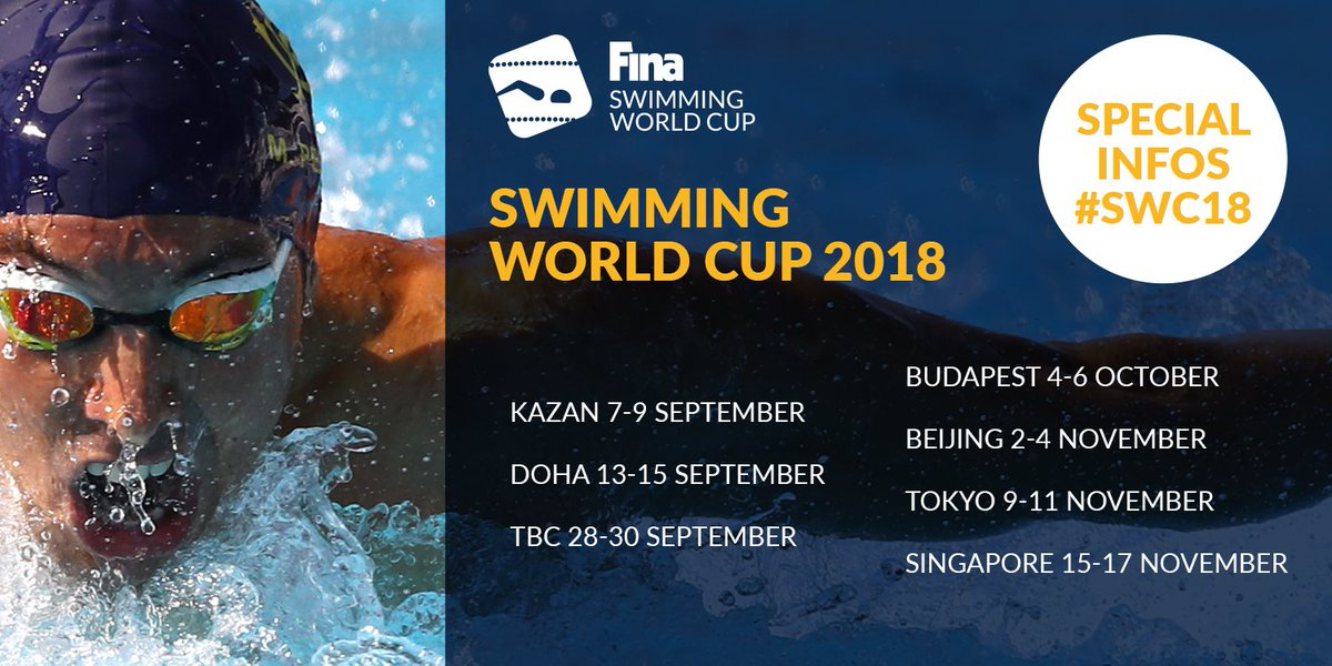 test Twitter Media - 📣📣📣 #SWC18 calendar is now out! #FINA #swimming #weareaquatics #waterisourworld #keepswimming https://t.co/AkXifRk54b
