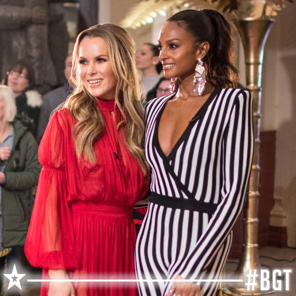 RT if you'd hit the #GoldenBuzzer for @AleshaOfficial & @AmandaHolden's #BGT Auditions look 😍🔥