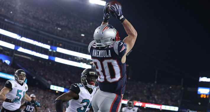 Catches in the clutch & some big time playoff performances.  Best 2017 ��s of @DannyAmendola: https://t.co/joOeWAfION https://t.co/UkxGp71t3y