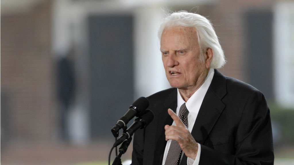Mort de l'influent prédicateur évangélique Billy Graham