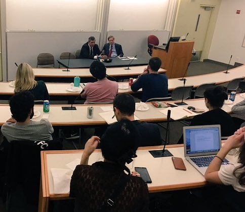 test Twitter Media - #EU Special Rep @SJLambrinidis addressing @NYU students on major human rights challenges #EU4HumanRights https://t.co/zhCDlasXvS