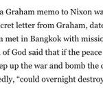 RT : When #BillyGraham Urged Nixon t...