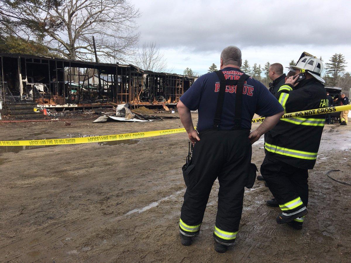 One person dead in Farmington mobile home fire | New Hampshire