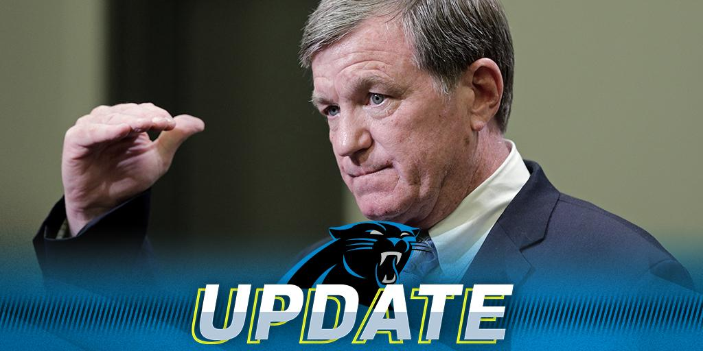 Marty Hurney named @Panthers GM: https://t.co/CA8bhoXLLq https://t.co/80e1nE3mXm