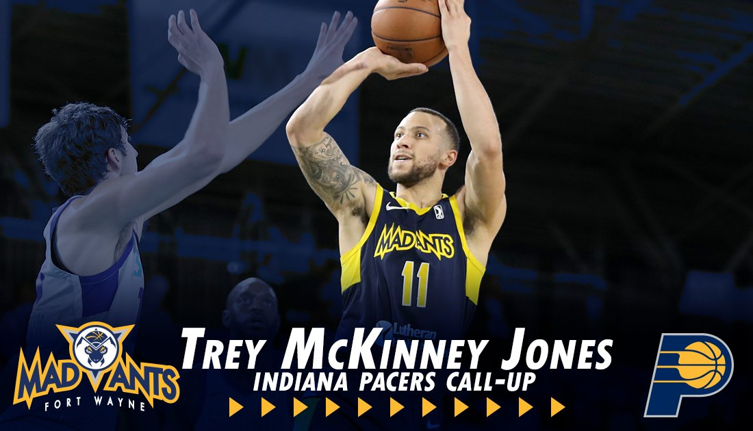 RT @TheMadAnts: Fort Wayne Mad Ants ➡️➡️➡️ Indiana Pacers  @Pacers sign @TreyMJ04  MORE: https://t.co/RgW2ZLRmnQ https://t.co/sHI1zPBrC0