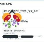 RT : #READY_EXOlympic hit 1 Million tweets!...