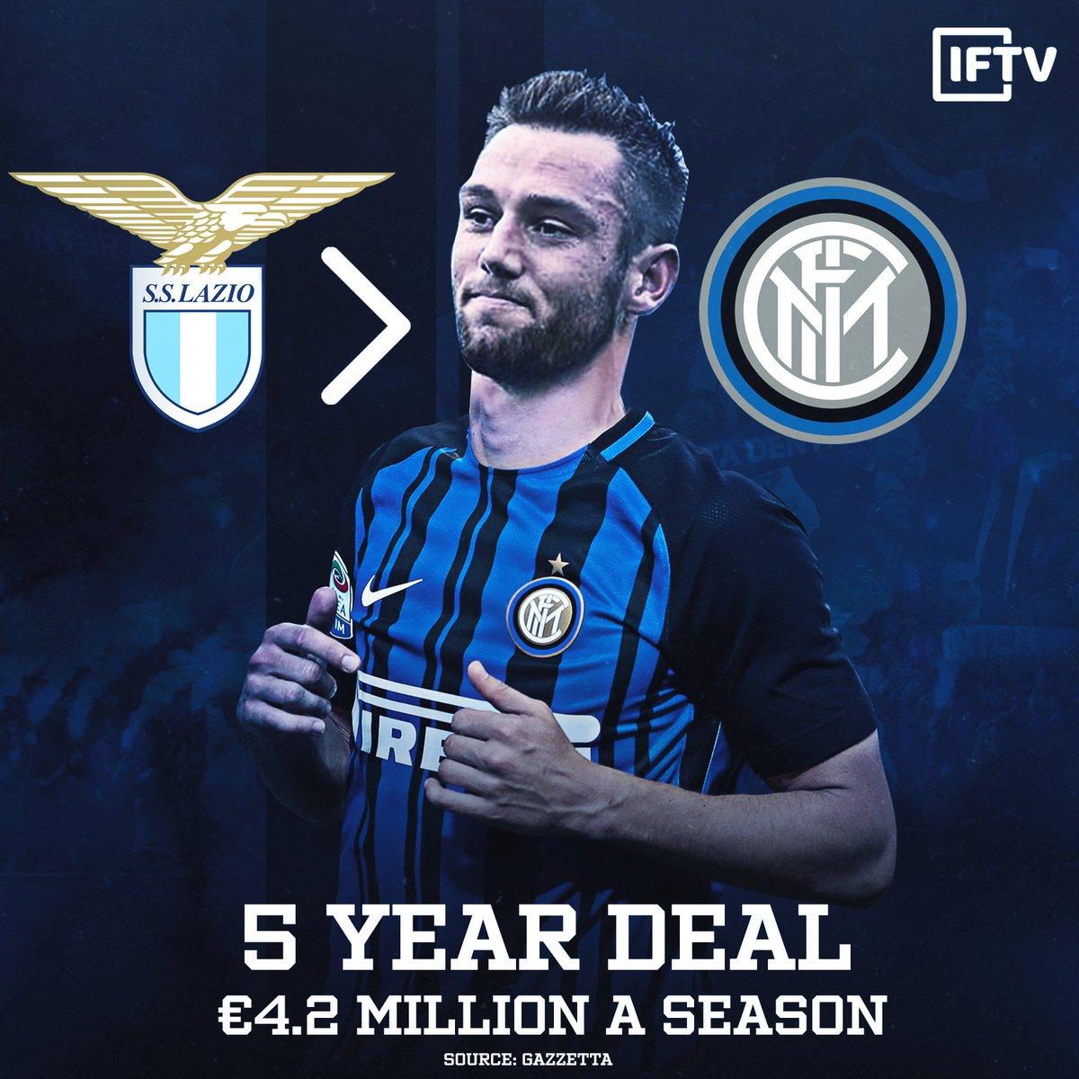 De Vrij to Inter? 👀 https://t.co/ltT8GEXQey