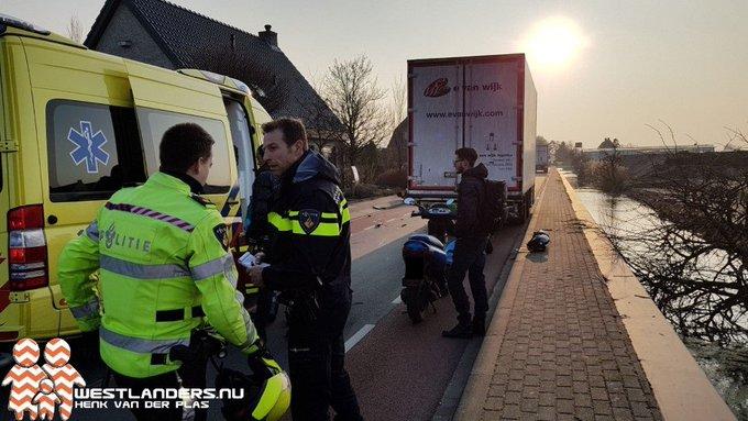 Motorrijder ernstig gewond bij ongeluk Groenepad https://t.co/PdfCxIYRKM https://t.co/7E6FCn4wb9
