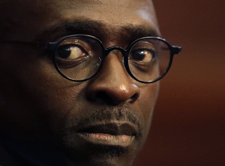 @BroadcastImagem: África do Sul reduzirá projeção de déficit para ano fiscal de 2018/2019, diz Malusi Gigaba. Themba Hadebe/AP