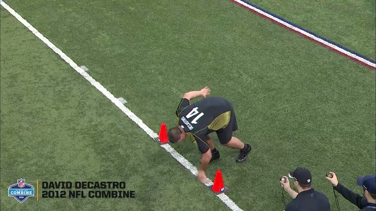 Before he was No.6️⃣6️⃣ in Black & Gold, David DeCastro was OL14 from @StanfordFball.  #NFLCombine https://t.co/qRany5TvnQ