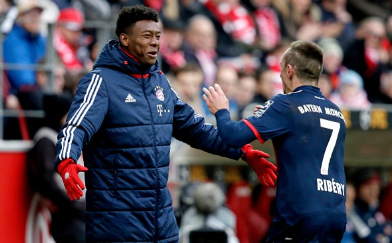 "David Alaba: ""Franck Ribéry is still world class. He is a leader on and off the pitch and is still showing every week that he can decide games"" [SportBild] https://t.co/l4Gek9gIFc"