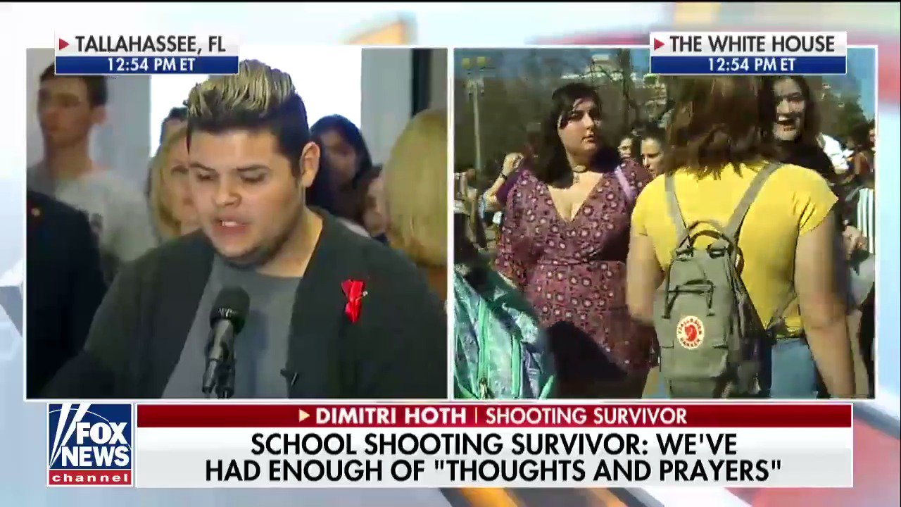 Dimitri Hoth: 'As students we should not have to fear for our lives. We should not have to run for our lives.' https://t.co/FBXVTx5hhc