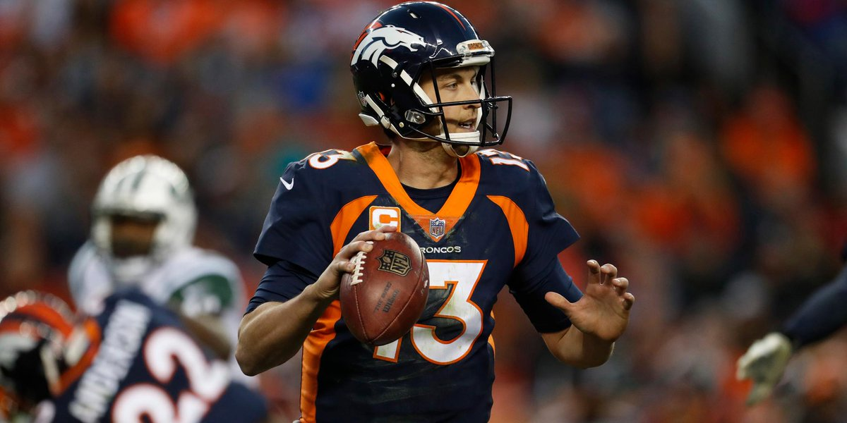 Trevor Siemian expected to be on the Broncos' trading block: https://t.co/o89QIXOGmp (via @RapSheet) https://t.co/L3iBXM9oYS