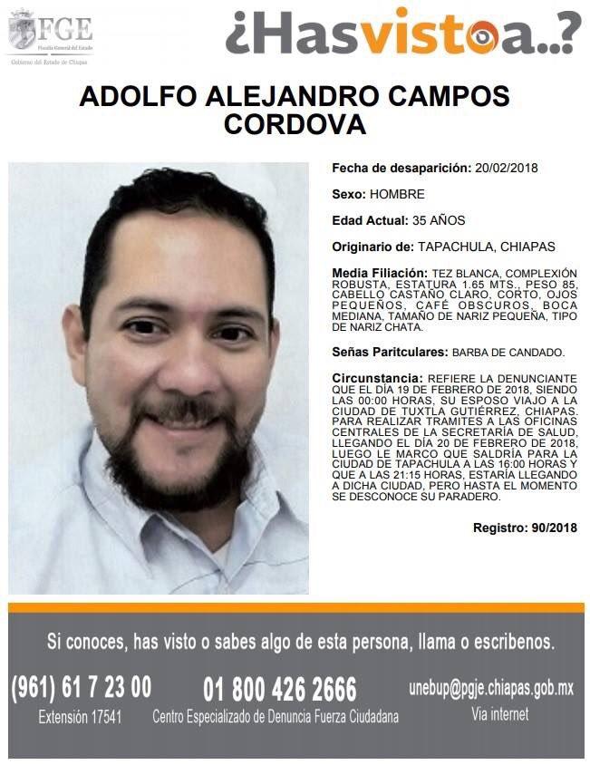 Servicio Social:  Solicitamos su apoyo para localizarlo, su familia lo busca. https://t.co/1kGRibQEBk