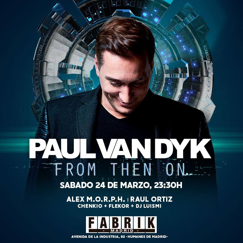 MADRID | March 24th at @fabrikdiscoteca https://t.co/mFM9yymXdF #FromThenOn https://t.co/H6DA65QKmg