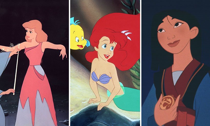 Can you spot the one thing almost all Disney princesses are missing?