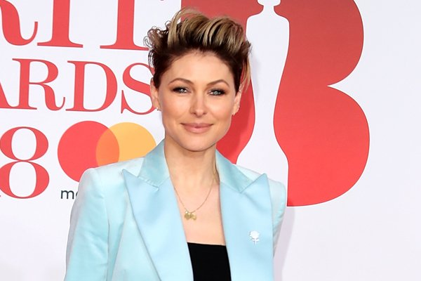 Emma Willis reveals gorgeous new hairstyle as she steps on the Britawards2018 red carpet
