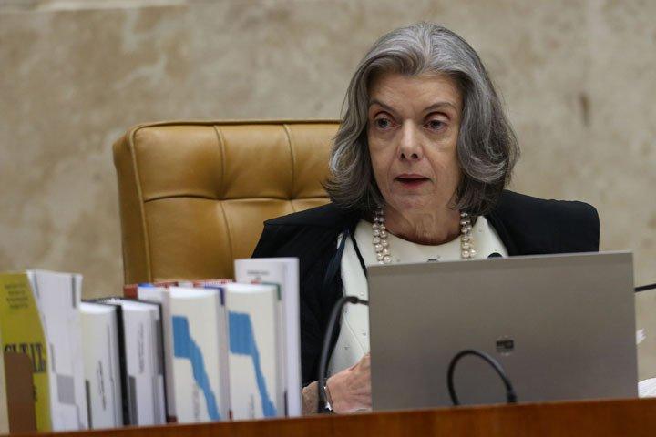 @BroadcastImagem: Ministra Cármen Lúcia preside sessão do Supremo Tribunal Federal (STF). André Dusek/Estadão