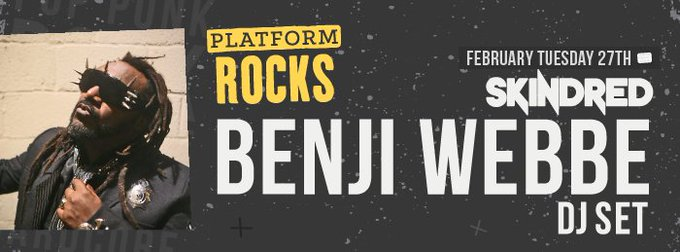 Next week with Benji Webbe behind the decks is looking big - get your tickets from https://t.co/vvyEC3xi7i https://t.co/KzRsOtEBSq