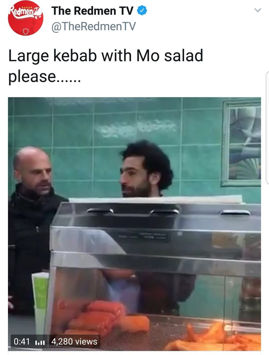 Mo Salah spent the day in Live liverpool