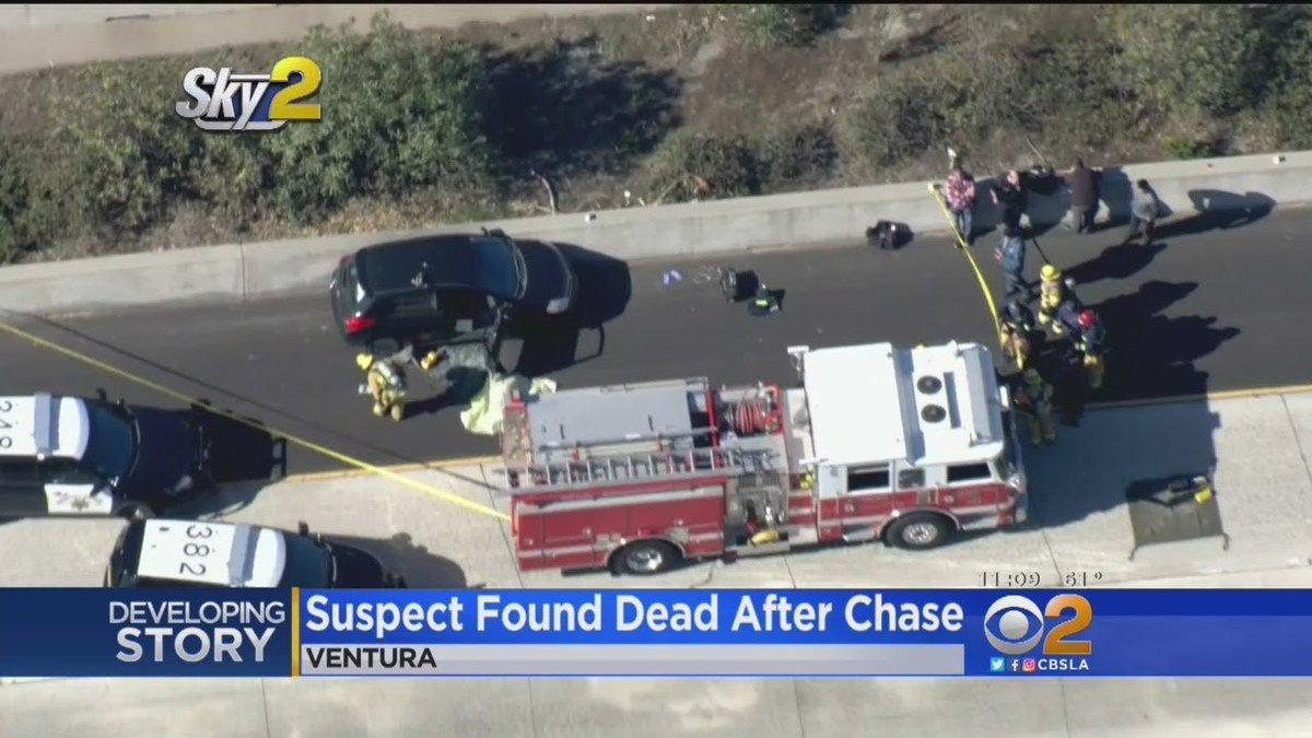 Rape Suspect Dies Of Poison Along 101 Freeway In Ventura