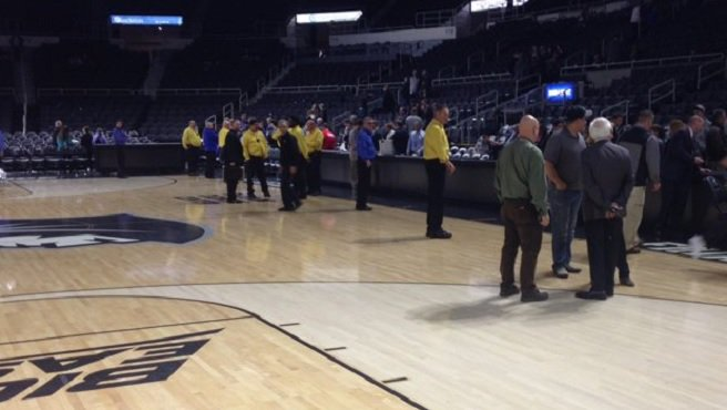 PC men's basketball game postponed due to unsafe floor conditions