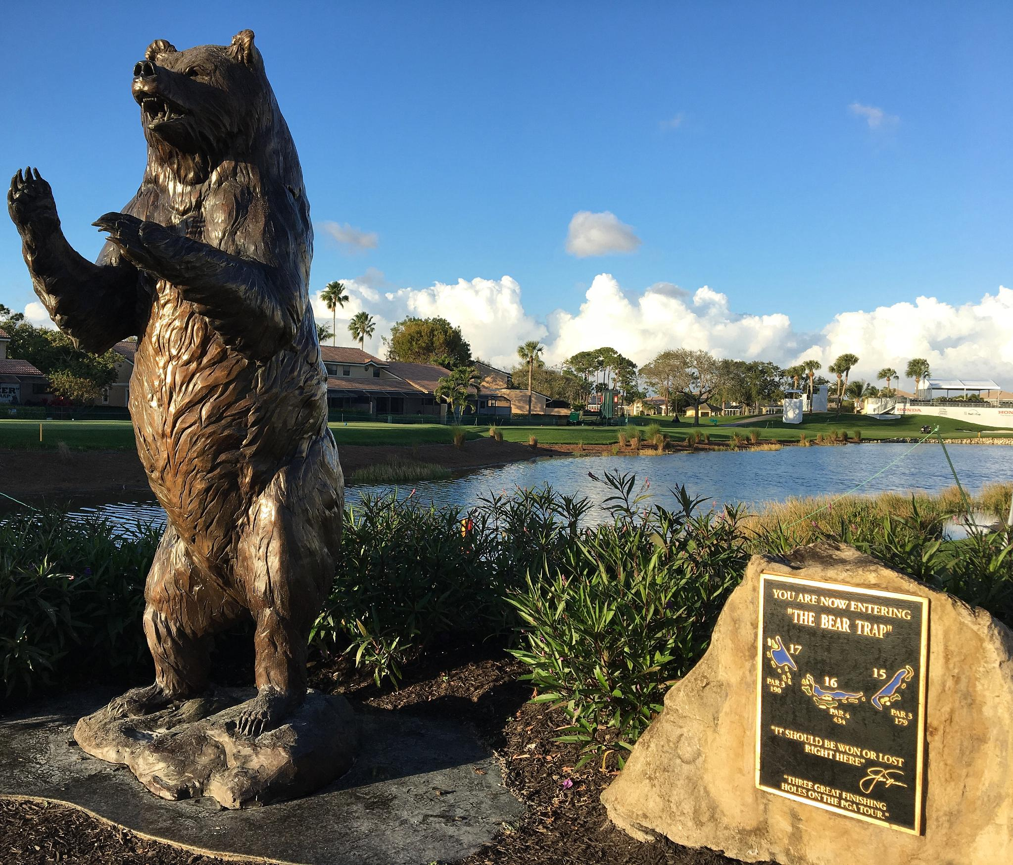'I fear those holes.'  Players return to the Bear Trap this week @TheHondaClassic. https://t.co/bGlA1jugYO https://t.co/0wZpX8LcuW