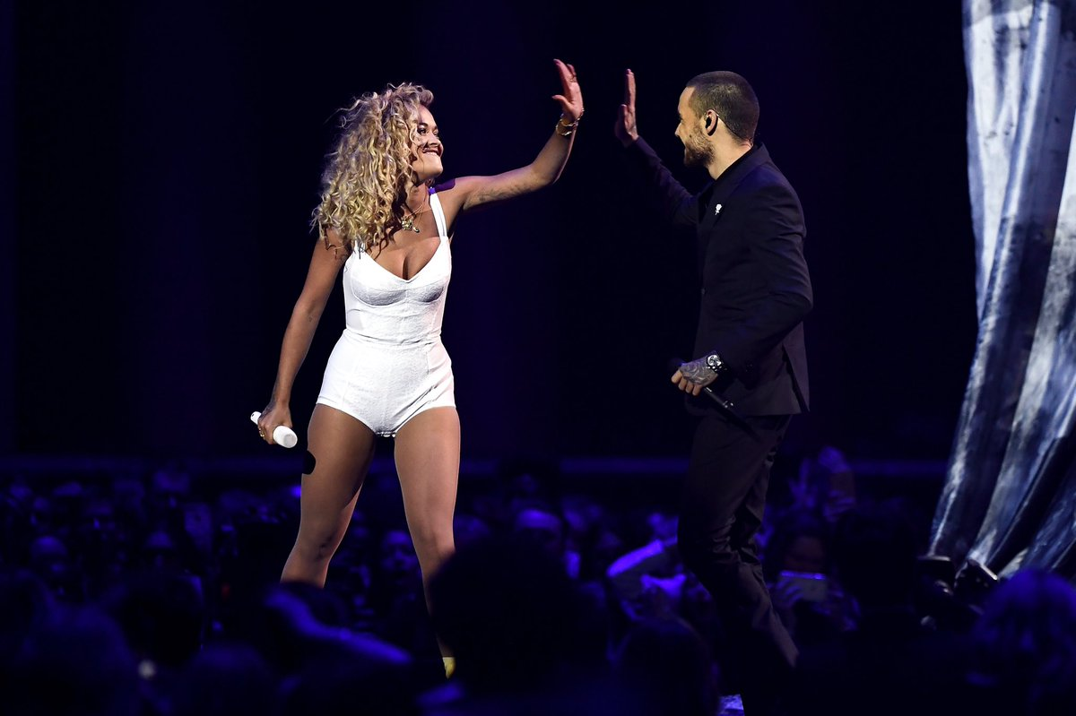 RT @LiamPayne: Felt amazing to get up on that #BRITs stage and perform #ForYou with @RitaOra ???????? #Brits2018 https://t.co/2ICNWjQyGv