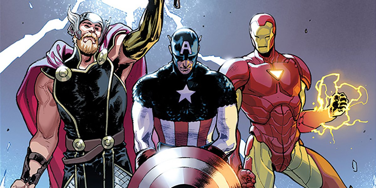 Marvel's Free Comic Book Day First Look Reunites Cap, Iron Man & Thor https://t.co/MyUgGc9rRb https://t.co/rLYn46nVTS