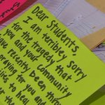 Lakota students send handwritten letters to Florida school shooting survivors
