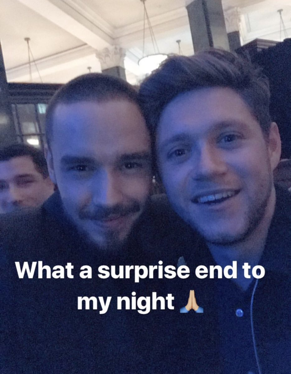 THIS IS THE BEST SURPRISE!!!! 💙 | @LiamPayne + @NiallOfficial https://t.co/esF8nbzaF4
