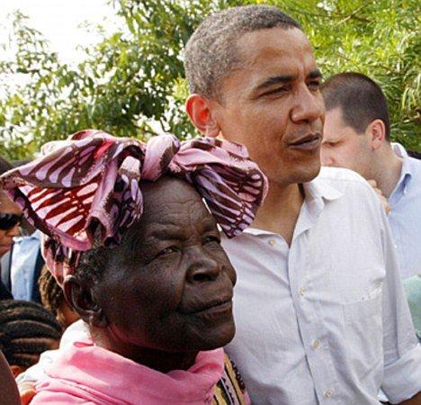 2 pic. Sarah Onyango Obama (born 1920-1921) is a Kenyan educator and philanthropist. calls