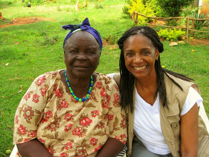 3 pic. Sarah Onyango Obama (born 1920-1921) is a Kenyan educator and philanthropist. calls