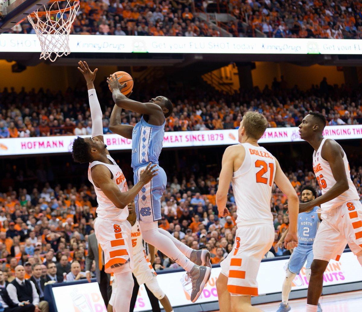 Photos from the win at Syracuse: https://t.co/YD8zHklhqC  #CarolinaSZN https://t.co/q5WWfflHjV