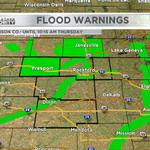 River flooding continues after excessive rainfall