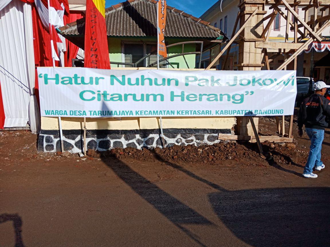 #JokowiSabaCitarum