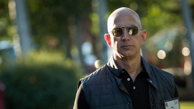 Amazon boss Jeff Bezos is building a $50 million clock inside a mountain