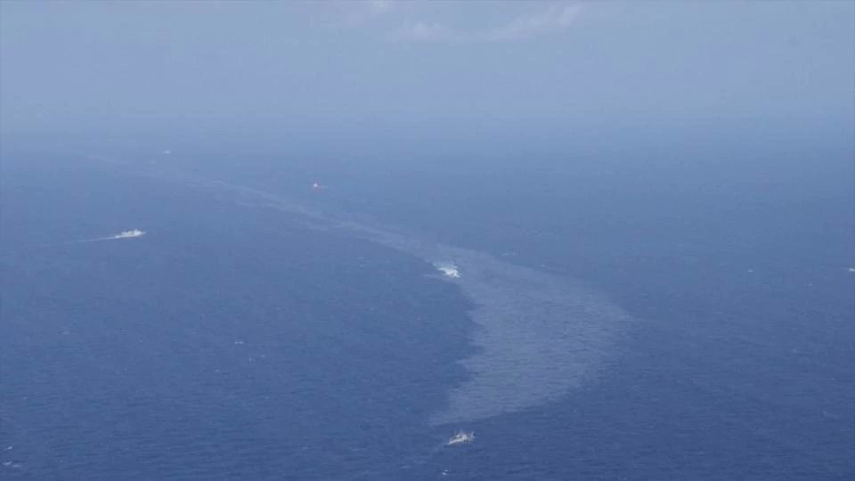 Oil that reached Japan shores may have been from sunken Iran tanker: Coast guard