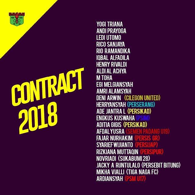 RT @Persitajuara: Squad resmi Persita Tangerang 2018💪   #persita  #liga22018  #gotoliga1 https://t.co/ETVujrjK1l