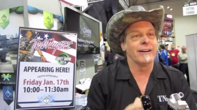 test Twitter Media - NRA board member Ted Nugent promotes conspiracy theory that Florida students are actors https://t.co/gFihsM6X3j https://t.co/PcpXu3QpYC